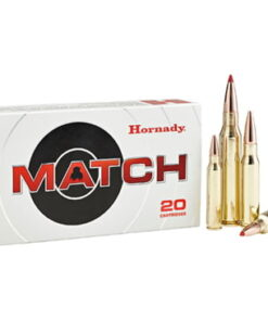 Buy Hornady Match 6.5mm PRC ammo 147 Grain Extremely Low Drag Match Centerfire Rifle Ammunition 500 Rounds