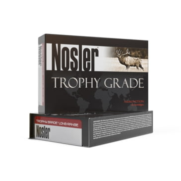 Buy Nosler 6.5mm PRC Long Range AccuBond 142 grain Brass Cased Rifle Ammo 500 Rounds online at affordable price